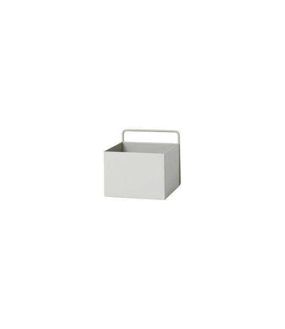 Ferm Living - Wall Box Square - Lys Grå