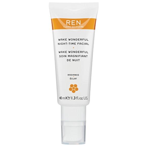 REN - Radiance Wake Wonderful Night-Time Ansigtsbehandling 40 ml