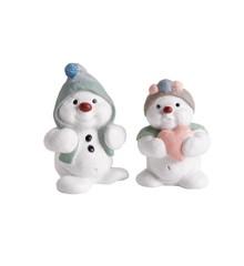 Klarborgnisser - Fiffi & Tilla Snowmen 2018 (93478)