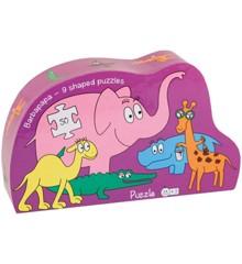 Barbo Toys - Puslespil - Barbapapa Safari (9 puslespil)