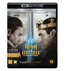 Kong Arthur: Legenden om sværdet (4K Blu-Ray)