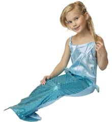Mermaid Dress 7-8 years - Blue