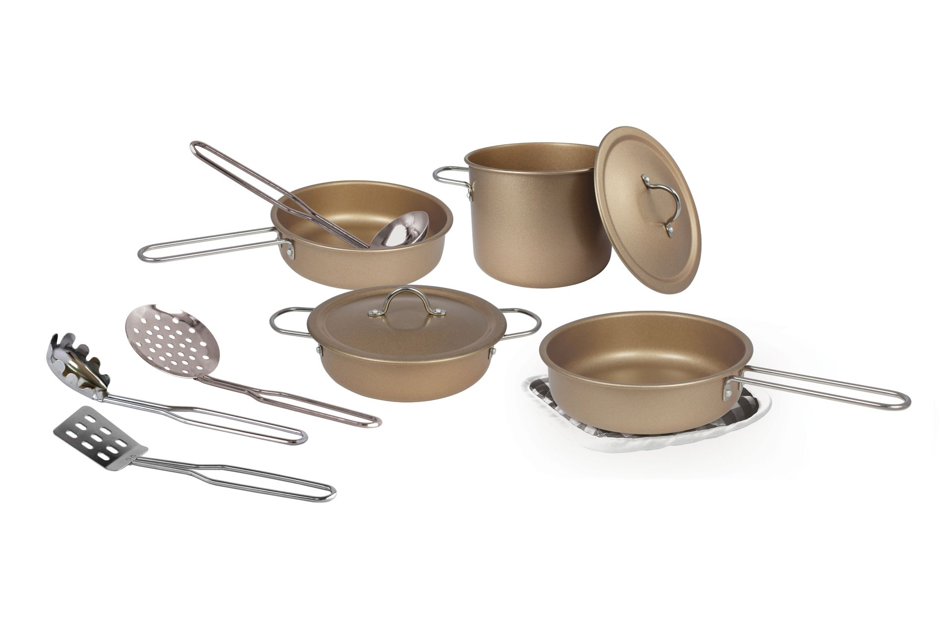 Magni - Cookware set in copper, 11 pcs (2939)