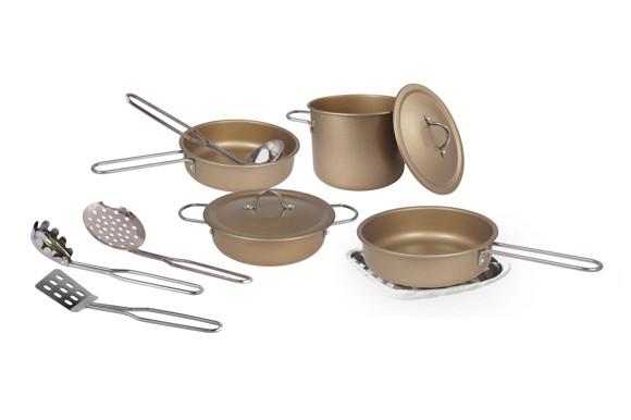 Magni - Cookware set in copper, 11 pcs (2939)