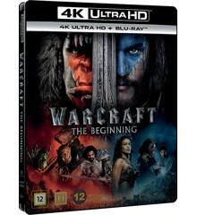 Warcraft: The Beginning (4K Blu-Ray)