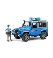 Bruder - Land Rover Politibil (2597)