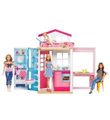 Barbie - Stort Dukkehus med Dukke  (DVV48)