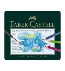 Faber-Castell - Akvarel Farveblyanter Albrecht Dürer, 24stk (117524)
