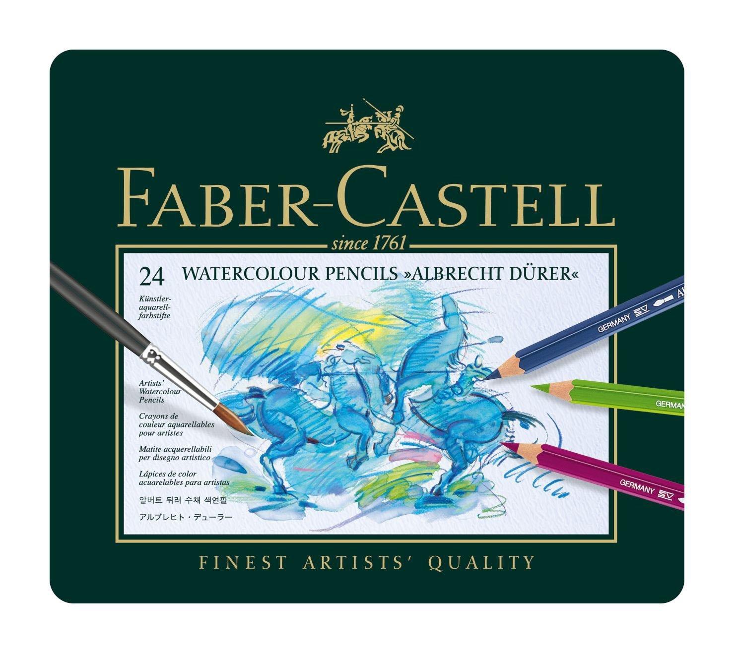 Faber-Castell -  Aquarellstift Albrecht Dürer 24er Metalletui