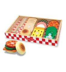 Melissa & Doug - Sandwich sæt