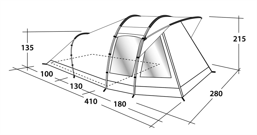 Buy Outwell Woodville 4 Tent (110778)