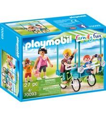 Playmobil - Family Fun - Familiecykel (70093)