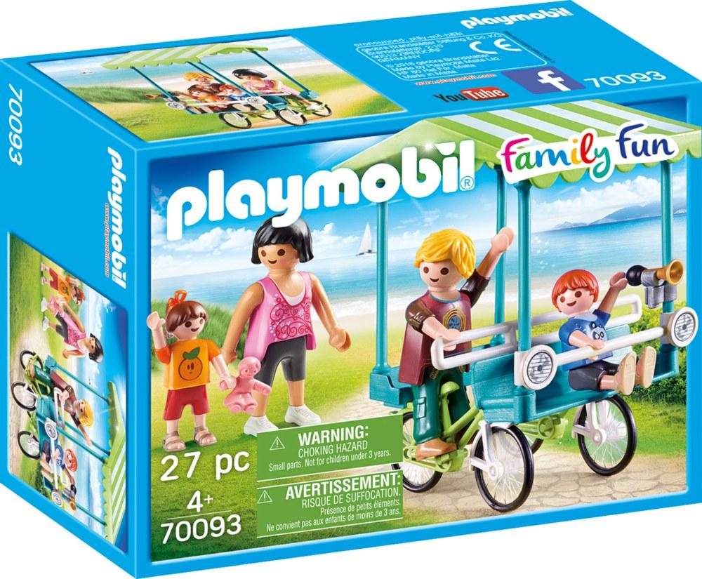 Playmobil - Family bike (70093)