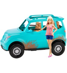 Barbie - Camping Fun Doll & Vehicle (FGC99)