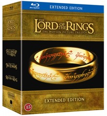 Lord of the Rings 1-3 Extended Edition (Blu-Ray)