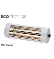 ​Solamagic - 1400 ECO+ PRO Patio Heater W/Switch - Titanium