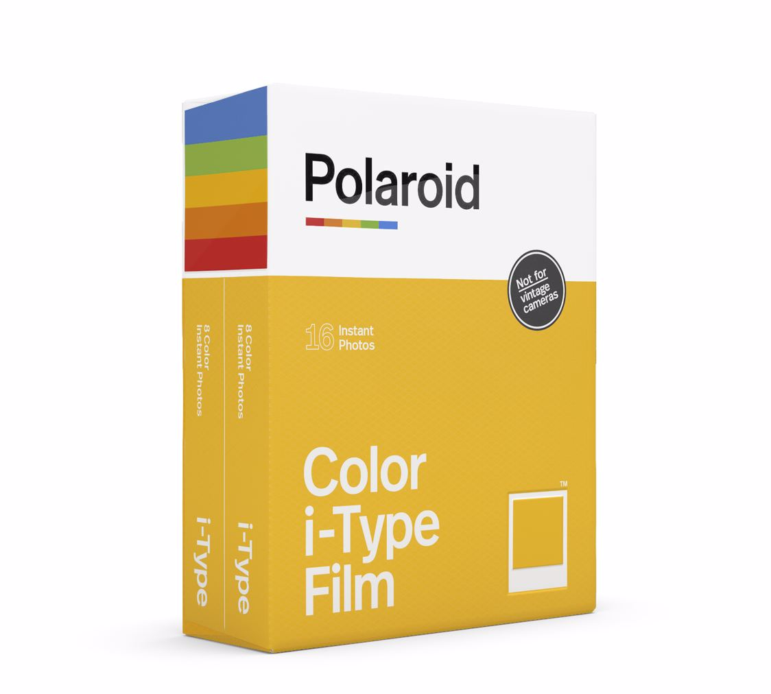 Polaroid Originals - Color i-Type Film For OneStep 2 (2-Pack)
