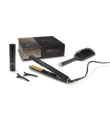 ghd - Gold Collection - V Styler Classic + Heat Protect Spray + Paddle Brush
