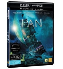 Pan (4K Blu-Ray)