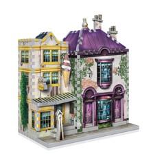 Wrebbit 3D Puzzle - Harry Potter - Madam Malkins & Florean Fortescues (40970008)