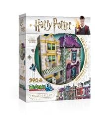 Wrebbit 3D Puzzle - Diagon Alley Collection - Madam Malkins & Florean Fortescues