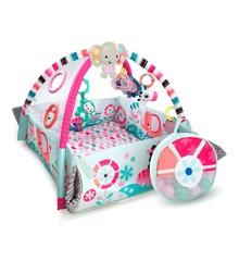 Bright Starts - 5-i-1 baby aktivitets center, Pink (10786)