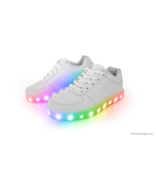 Disco Sneakers - LED Lys - Str 38