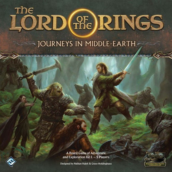 Lord of The Rings - Journeys In Middle-Earth - Boardgame (English) (FJME01)