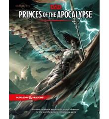 Dungeons & Dragons - Role Play - 5th Edition Princes of The Apocalypse (D&D) (Engelsk)