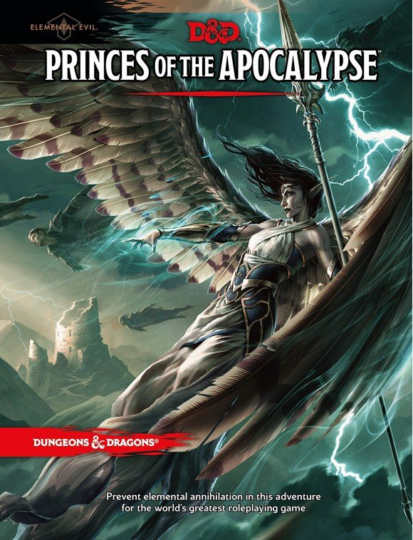Dungeons & Dragons - Role Play - 5th Edition Princes of The Apocalypse (D&D) (English)