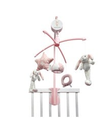 Little Dutch - Musical mobile rabbit, Pink ( LDT4637)