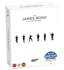 James Bond - Collection Box Incl. Spectre (24 disc)