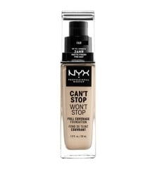 NYX Professional Makeup - Can't Stop Won't Stop Foundation - Fair
