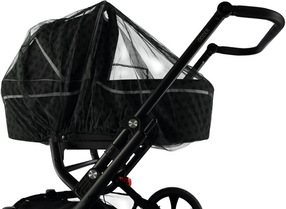 Småfolk - Mosquito Net for Baby Carriage with Apple Print