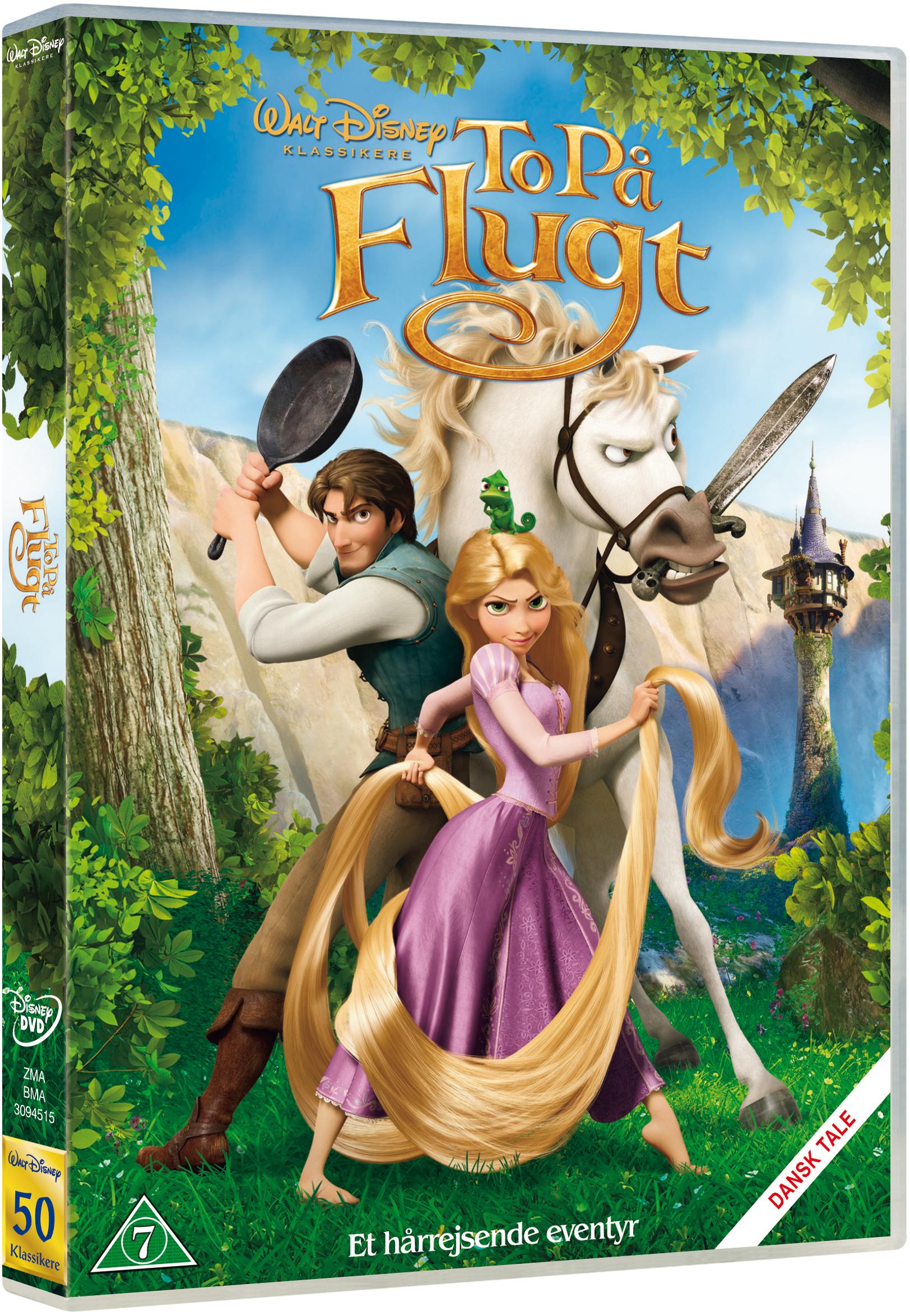 To på flugt - Et hårrejsende eventyr Disney classic #50