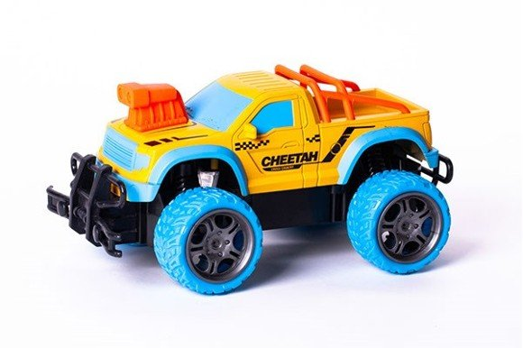 TECHTOYS - R/C Gallop Beast - Rapidly 1:18 - Yellow/Blue (534451)