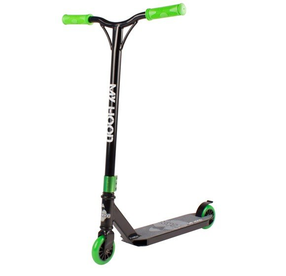 My Hood - Trick Scooter 7.0 - Black/Lime (506062)