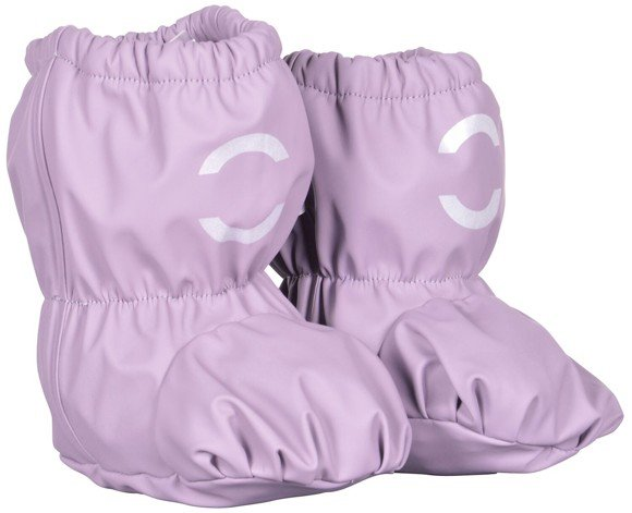 Mikk-Line - PU Rain Footies w. Fleece