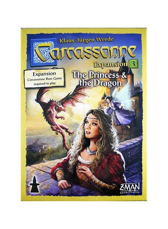 Carcassonne - The Princess & The Dragon (Nordic)