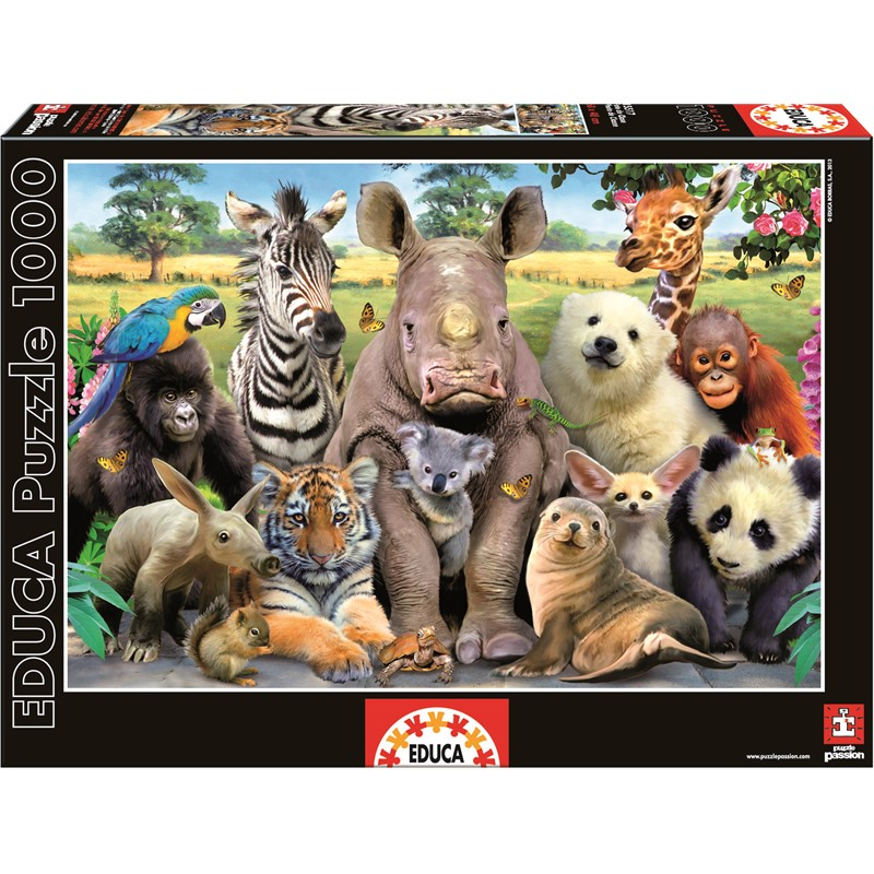 Educa - Puzzle 1000 - Class Photo (015517)