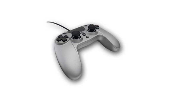 VX4 Wired Silver Controller for PS4 and PC