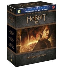The Hobbit Trilogy - Extended Edition (3D Blu-ray)