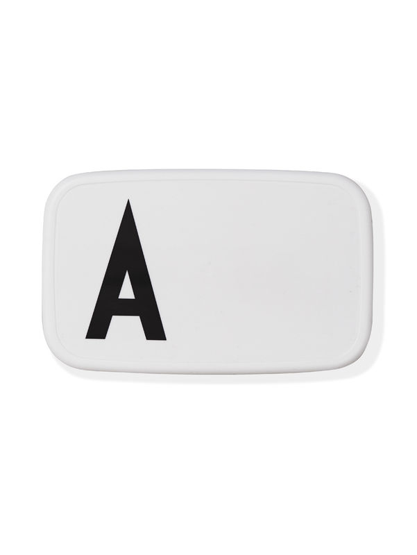 Design Letters - Personal Lunch Box - A