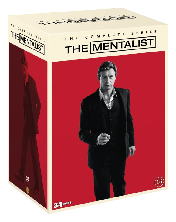 The Mentalist: Complete Box - Sæsong 1-7 - DVD