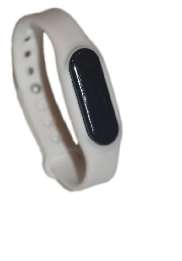 Go-tcha Wristband White Strap