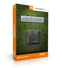 Toontrack - EZX Electronic - Expansion Pack For EZdrummer (DOWNLOAD)