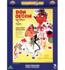 Don Olsen kommer til byen - DVD