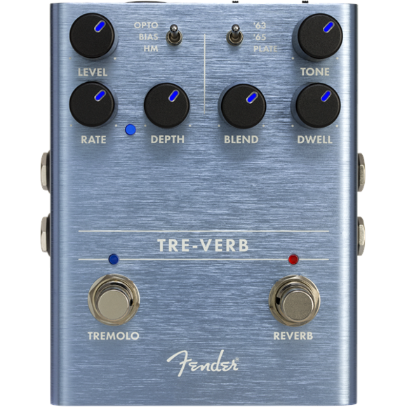 Fender - Tre-Verb Digital Tremolo/Reverb - Guitar Effekt Pedal