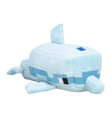 "Minecraft Happy 7"" Explorer Dolphin Plush"