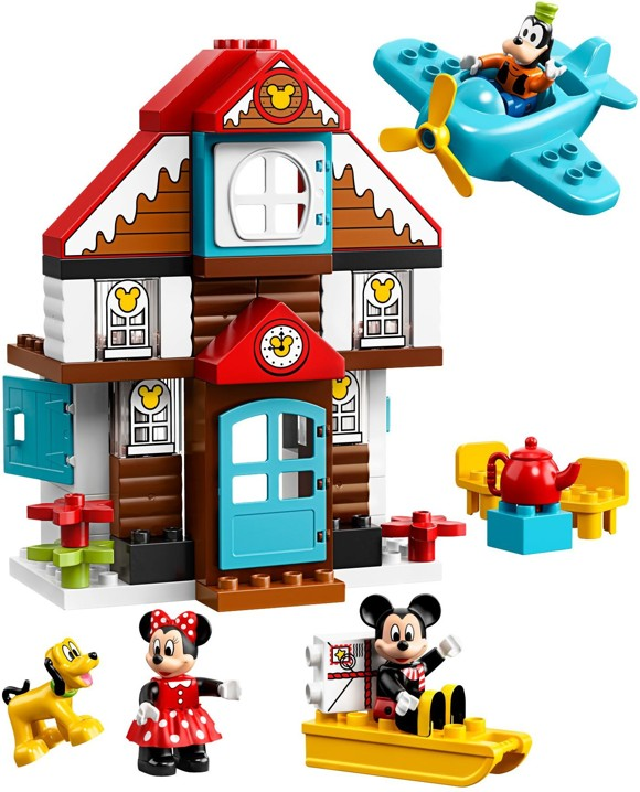 LEGO DUPLO - Mickey's Vacation House (10889)